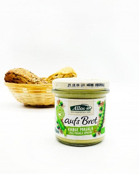 Brotaufstrich - Aufs Brot Erbse Masala