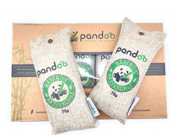 Bambus Aktivkohle Kissen 4 x 75g Lufterfrischer