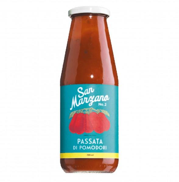 Passierte San Marzano Tomaten