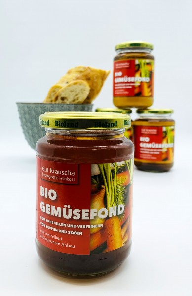 Bio Gemüsefond