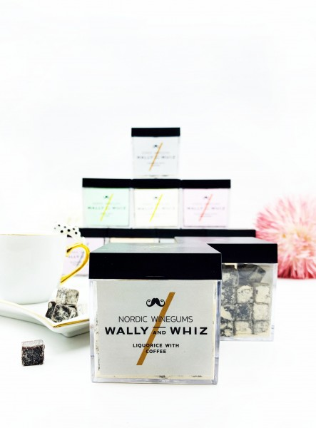 Wally & Whiz Liquorice with Coffee Wine-Gum