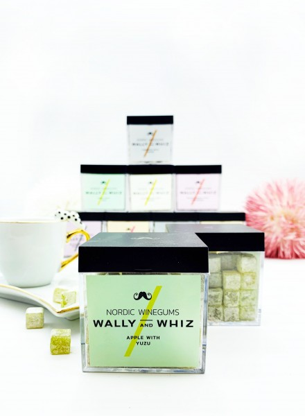 Wally & Whiz Apple with Yuzu Wine-Gum