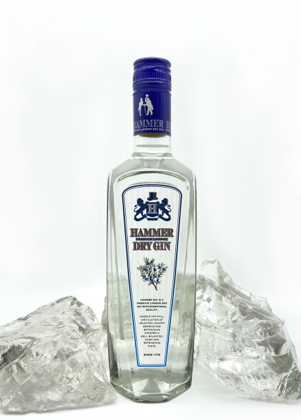 Hammer London Dry Gin 37,5% vol 0,7l