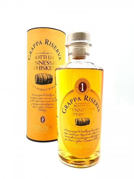 Sibona Grappa Riserva Botti da Whiskey
