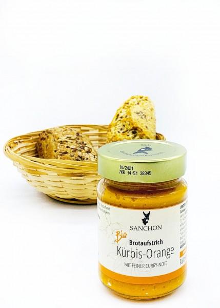 Brotaufstrich Kürbis-Orange