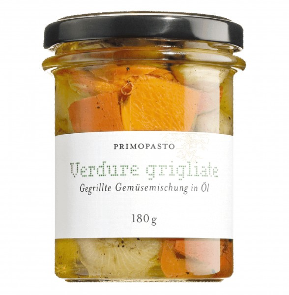 Gegrilltes Gemüse, Verdure grigliate miste